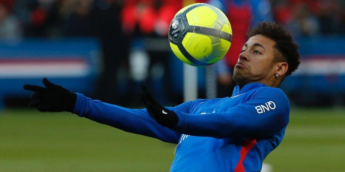 Neymar se ausenta del entrenamiento del PSG por síndrome viral