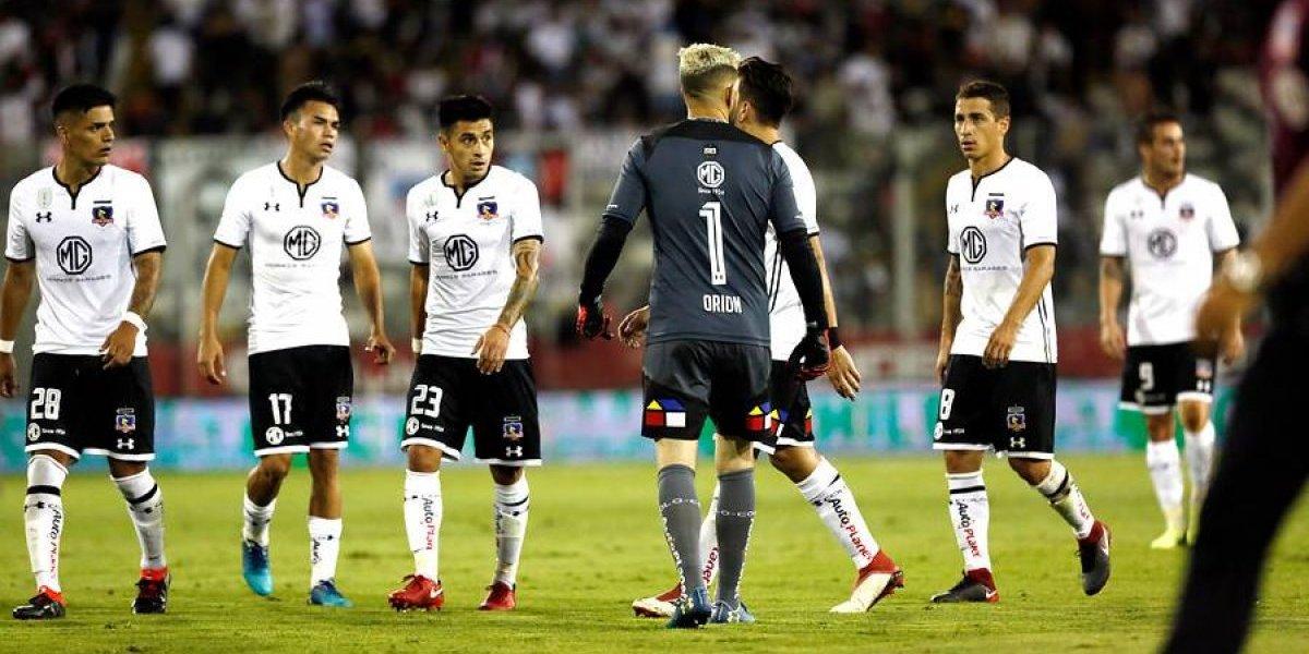 Agustín Orión se sacó el amarillo y se olvidó del error con un partidazo que salvó a Colo Colo