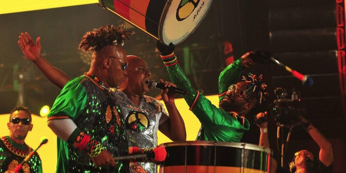 Olodum faz show gratuito na Avenida Paulista neste domingo