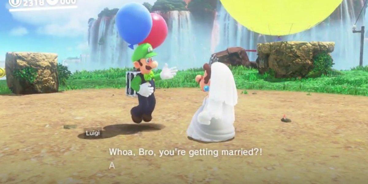 Mario Bros vestido de novia y las hilarantes reacciones de Internet