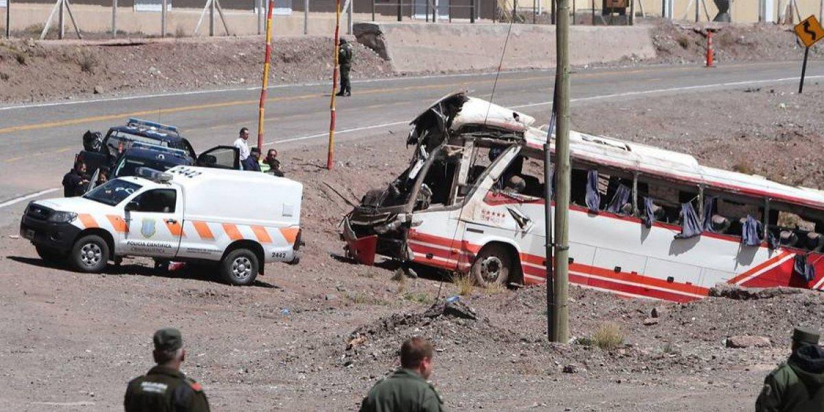 Chofer chileno que provocó fatal accidente en Mendoza fue condenado a 14 años de cárcel por la justicia argentina