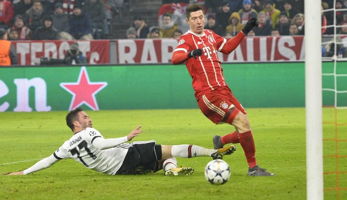 Lewandowski es el goleador del Bayern.