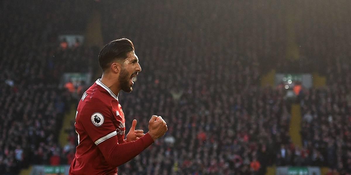 Liverpool toma el segundo puesto en la Premier