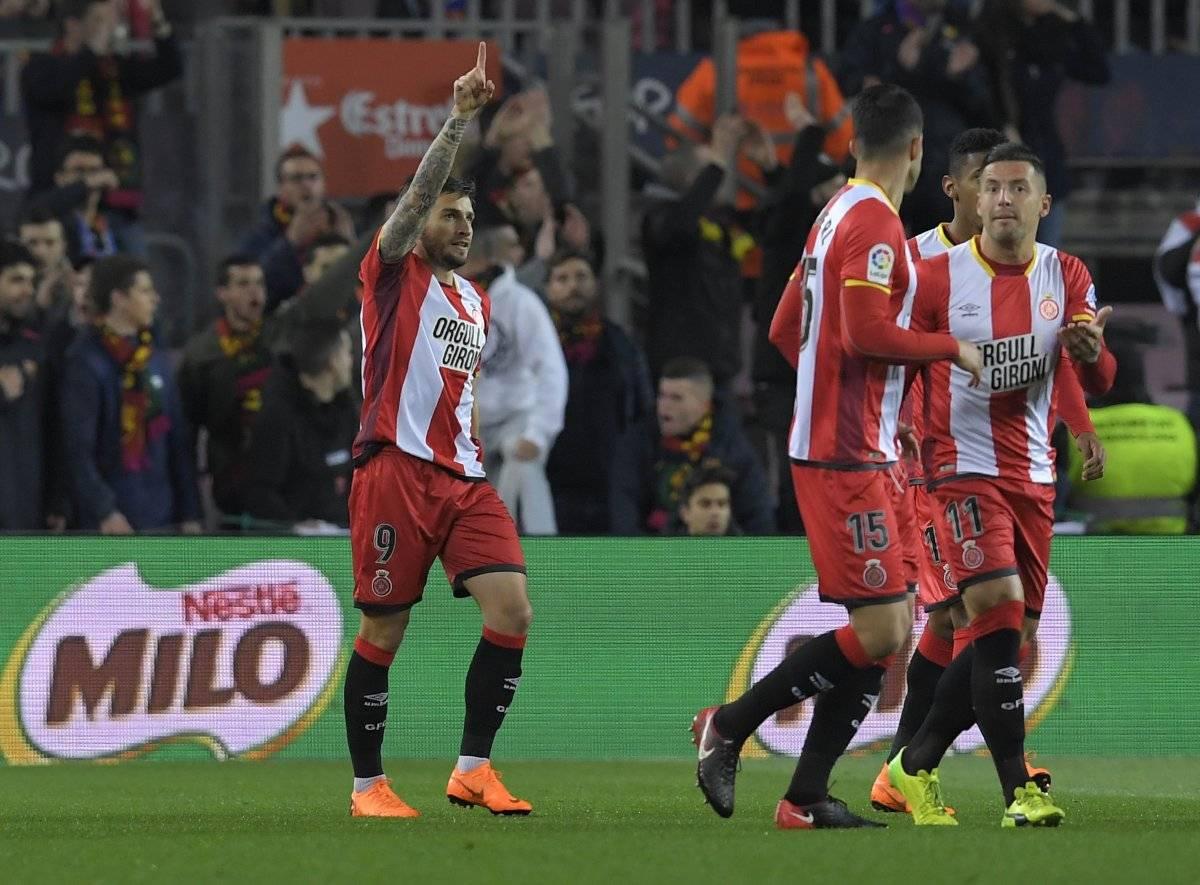 El Girona se habia puesto en ventaja.
