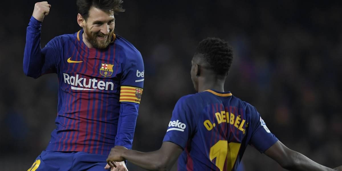 Feria de goles del Barcelona ante el Girona