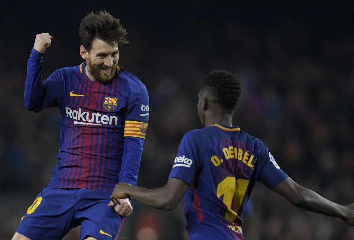 Messi es el actual goleador de la Liga.