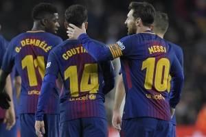El Barcelona fue un equipo contundente.