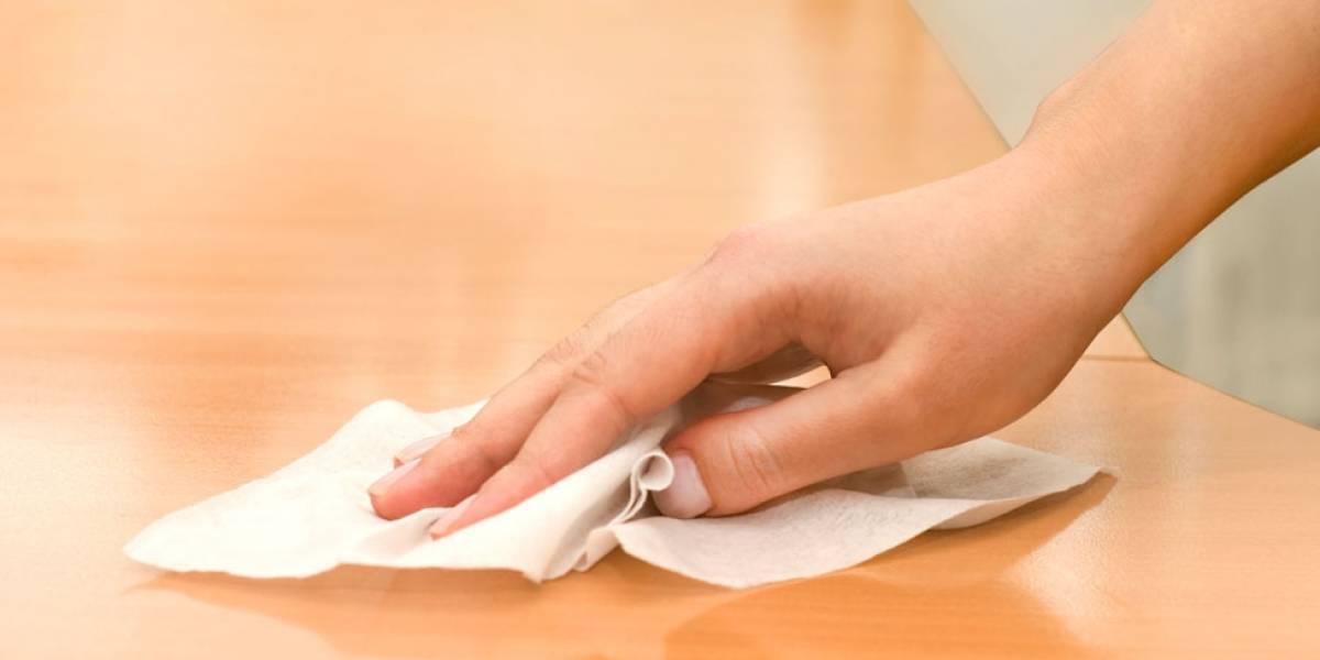 Esta es la bacteria que tienen las toallas húmedas de limpieza que están retirando del mercado