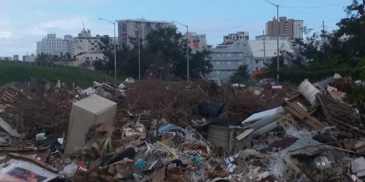 Ciudadanos denuncian centro de acopio se convirtió en vertedero ilegal en Santurce