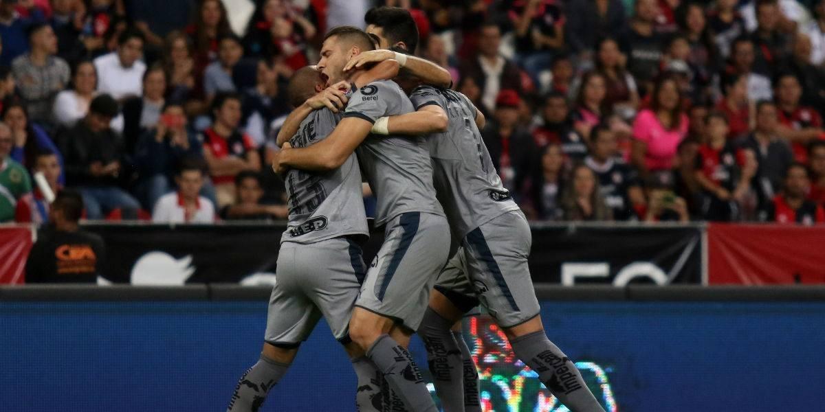 Con lo mínimo Monterrey derrota al Atlas para hundirlo en la Liga MX