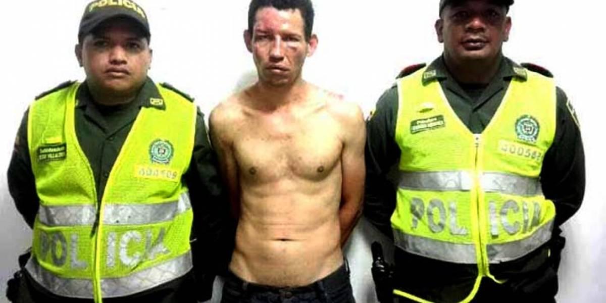 Por poco linchan a venezolano que hirió a anciana para robarle comida