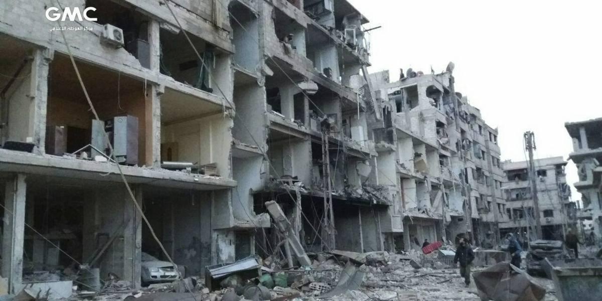 Guta Oriental; la batalla en Siria que dejó 500 muertos en 7 días
