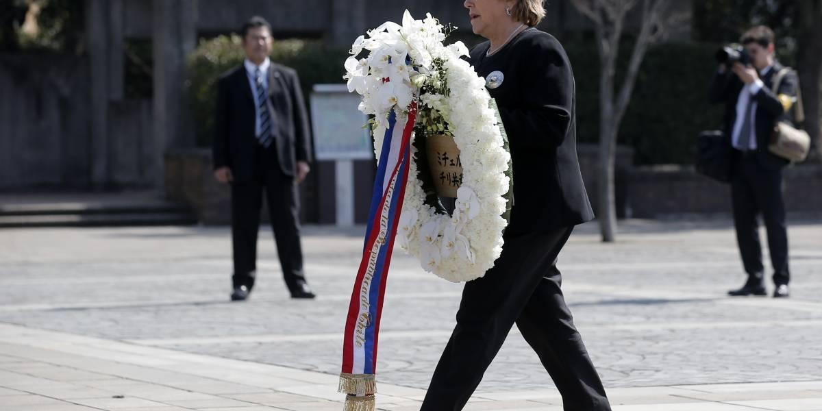 Presidenta Bachelet homenajeó a las víctimas de la bomba atómica de Nagasaki