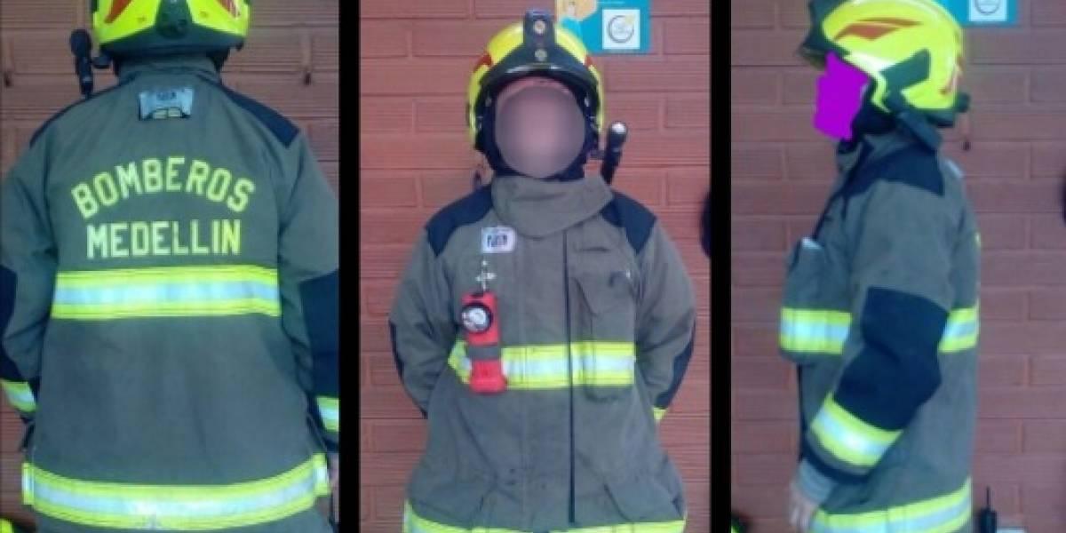 Buscan al ladrón de un traje de bombero avaluado en $25 millones