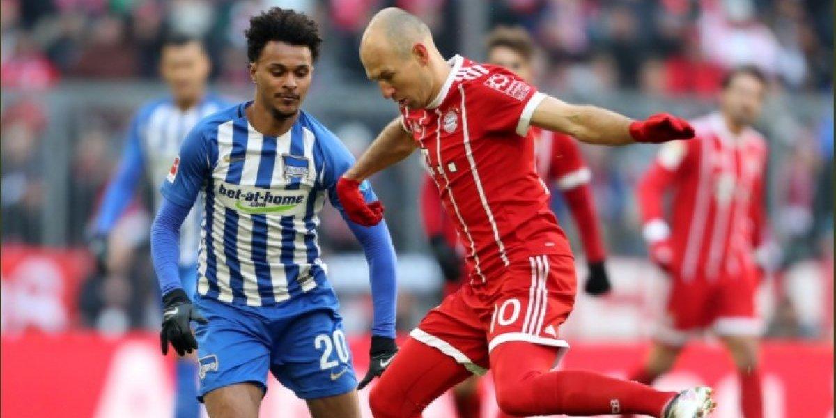 Bayern Munich dejó escapar puntos en la Bundesliga después de tres meses