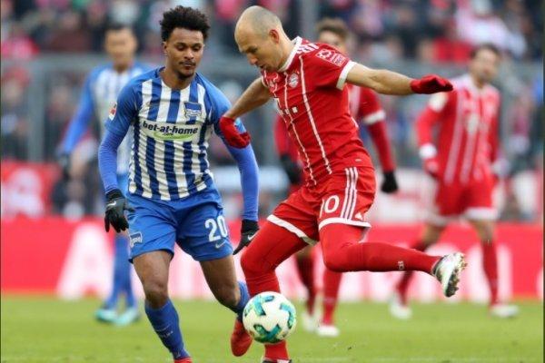 Bayern Munich nuevamente no pudo con el Hertha / imagen: FC Bayern