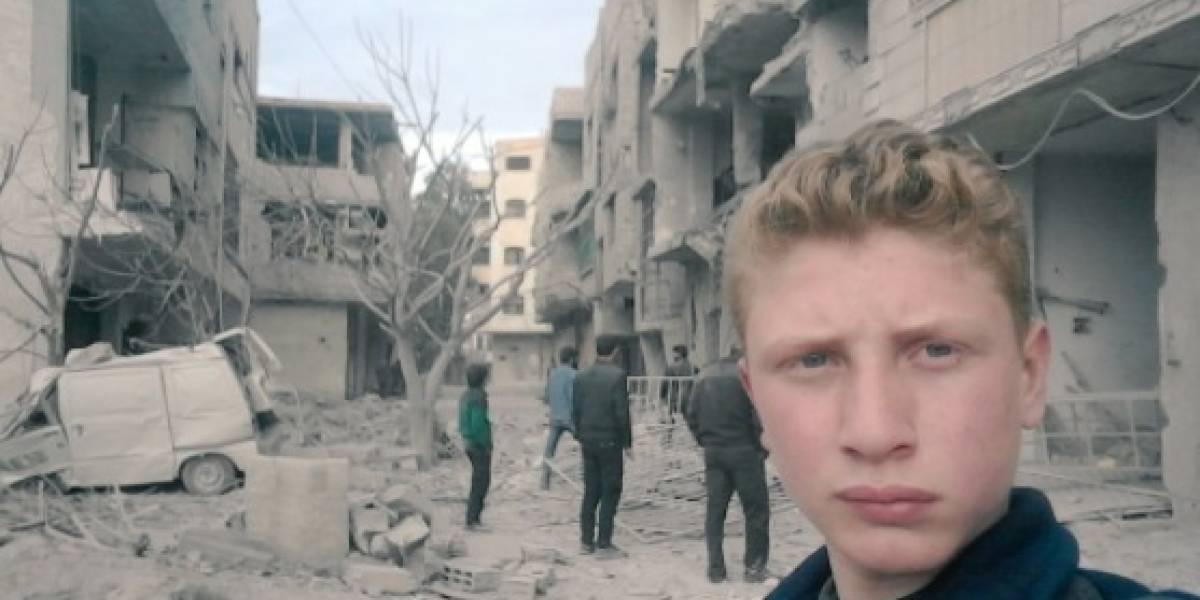 Reportero improvisado: Un niño sirio de 15 años muestra el horror de Guta, en Siria