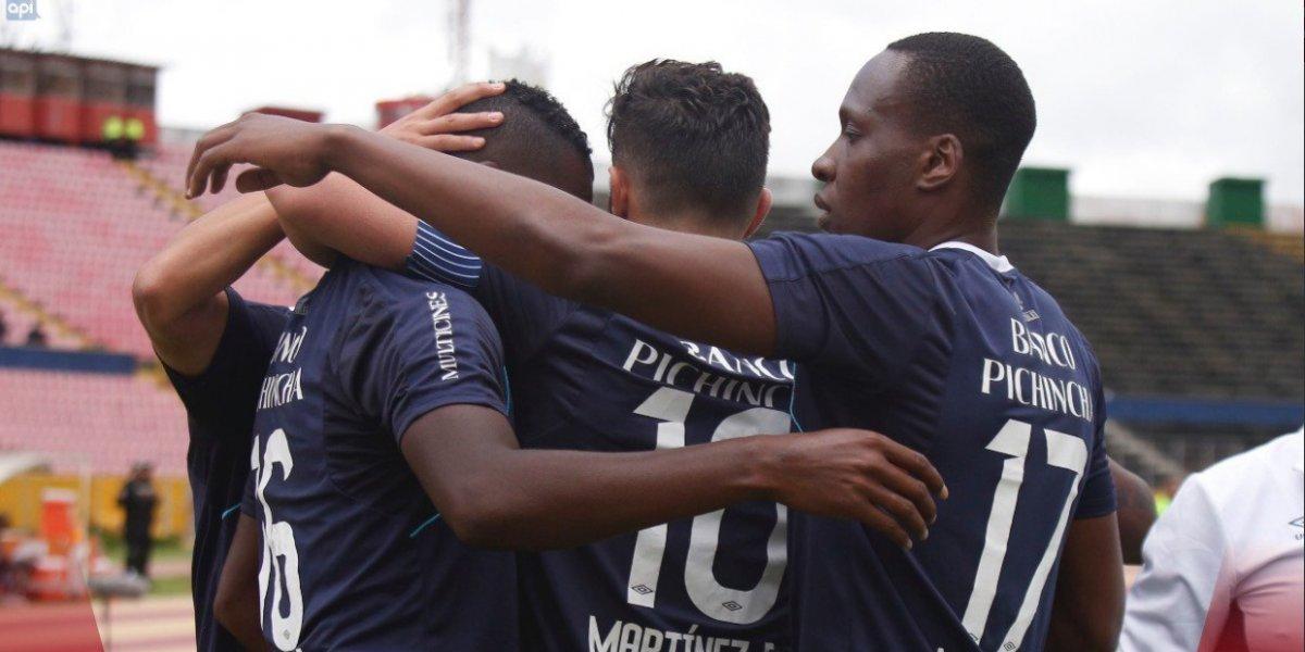 Universidad Católica gana a Deportivo Cuenca