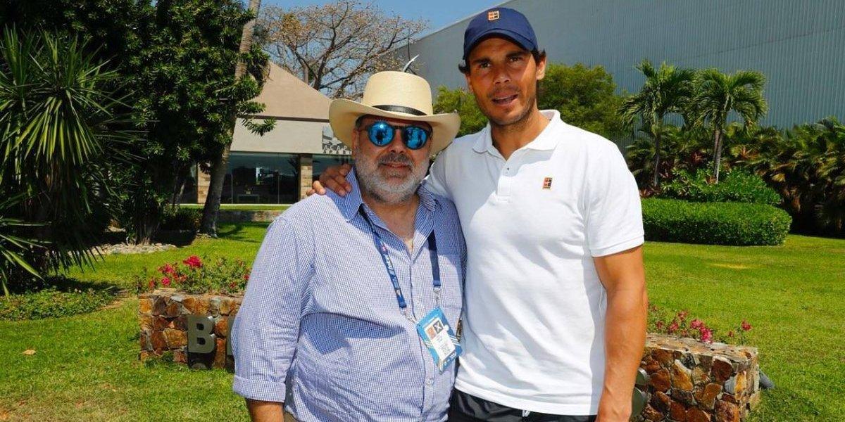 Rafael Nadal se instala en Acapulco para el Abierto Mexicano
