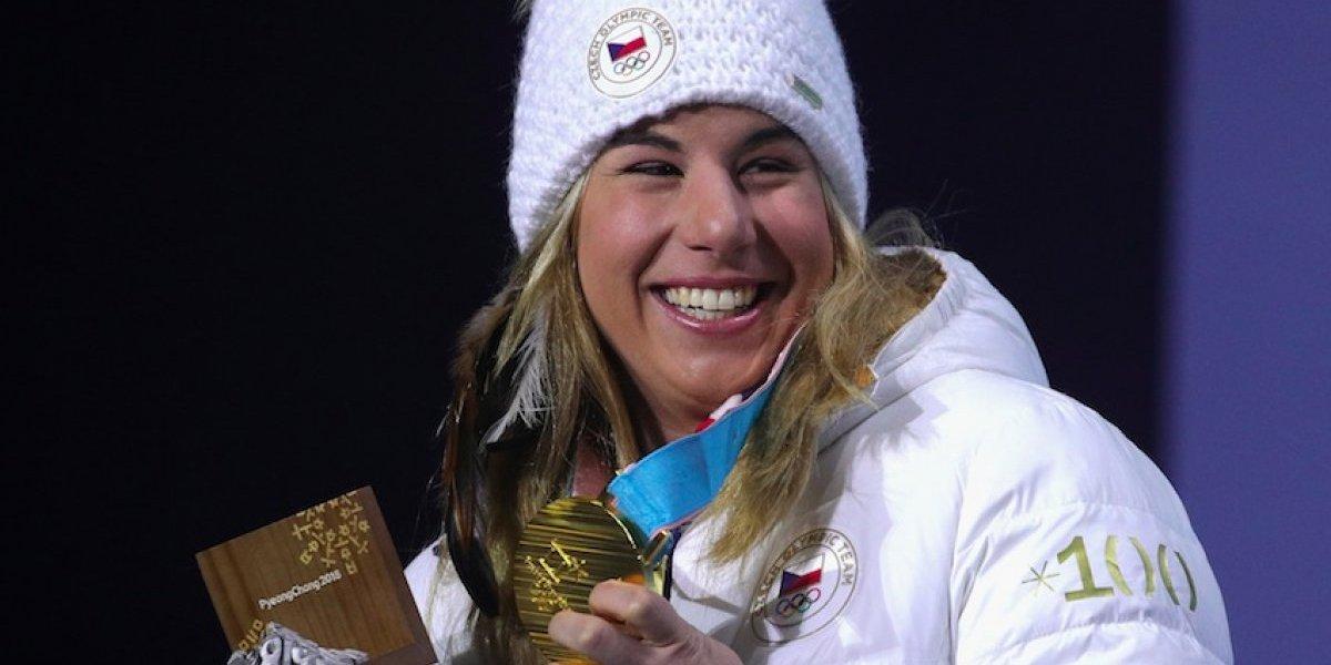 Ledecka hace historia al ganar oro en dos deportes distintos en PyeongChang 2018