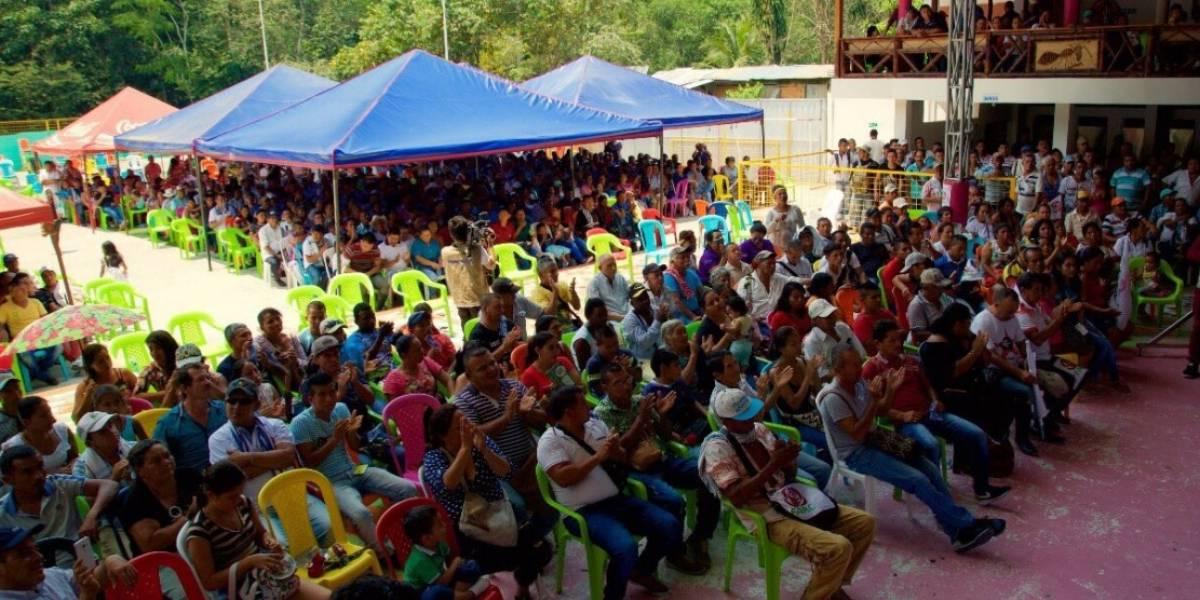 Iván Márquez se reunió con seguidores del partido Farc en Putumayo