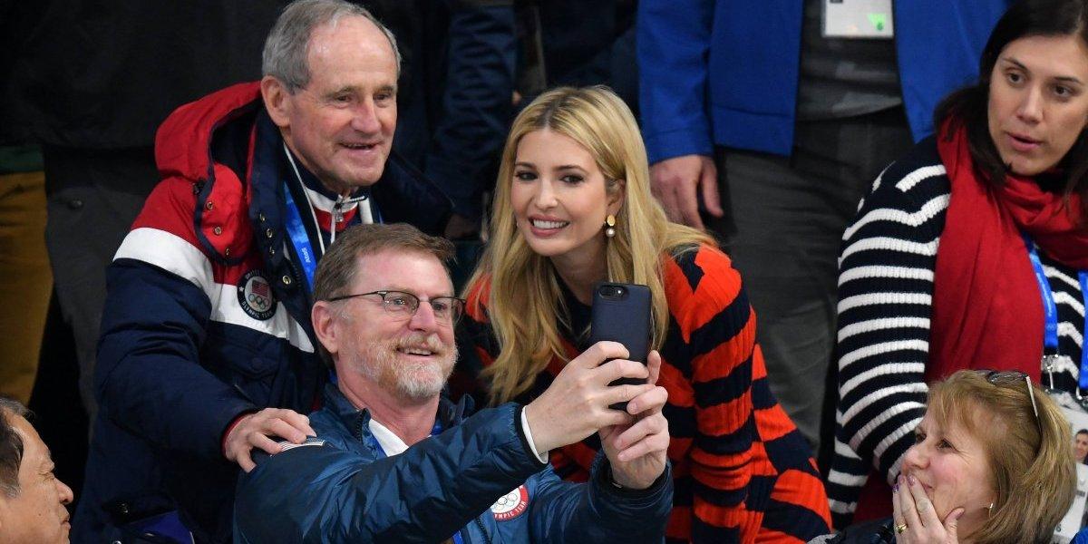 Ivanka Trump se roba las miradas en los Juegos Olímpicos de Corea del Sur