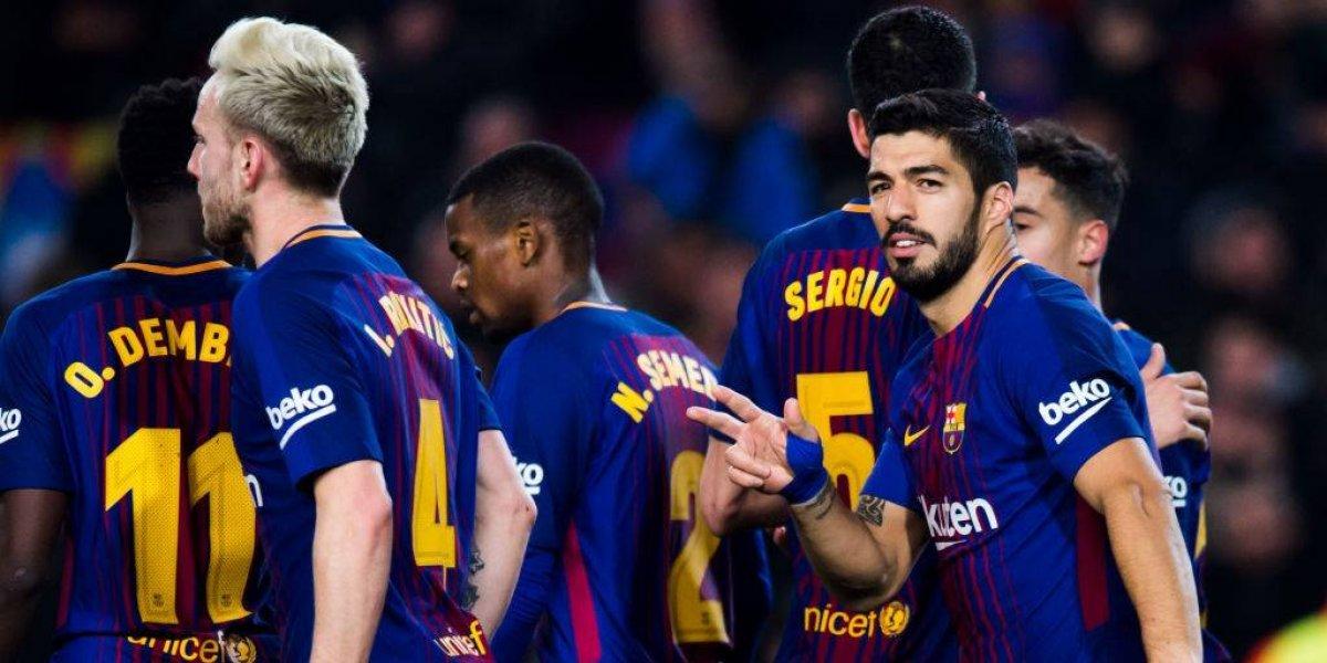 Barcelona arrolló a Girona y continúa firme en la cima del fútbol español