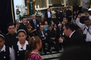 Iván Velásquez llega al Calvario