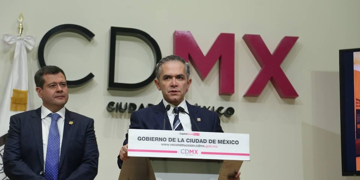 Gobierno capitalino colabora con UNAM en seguridad desde afuera: Mancera