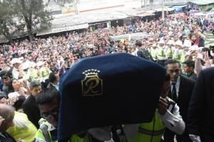 Honras fúnebres, Monseñor Óscar Julio Vian