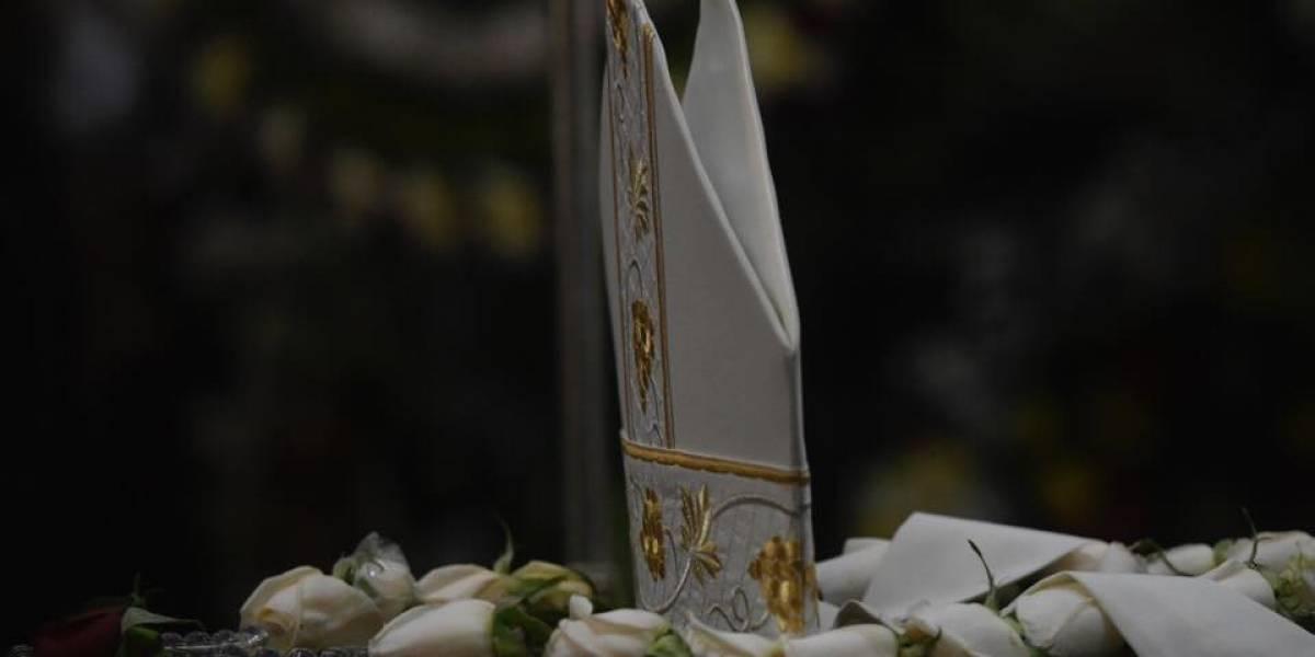 EN IMÁGENES. Las mejores fotos de las honras fúnebres de Monseñor Óscar Vian