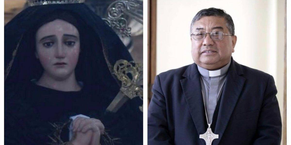 ¿Por qué Monseñor Vian tenía especial afecto por la Virgen de la Soledad?
