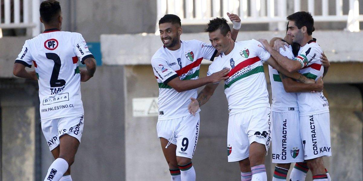 El Pájaro sigue prendido: Palestino derrotó con lo justo a San Luis gracias a gol de Roberto Gutiérrez