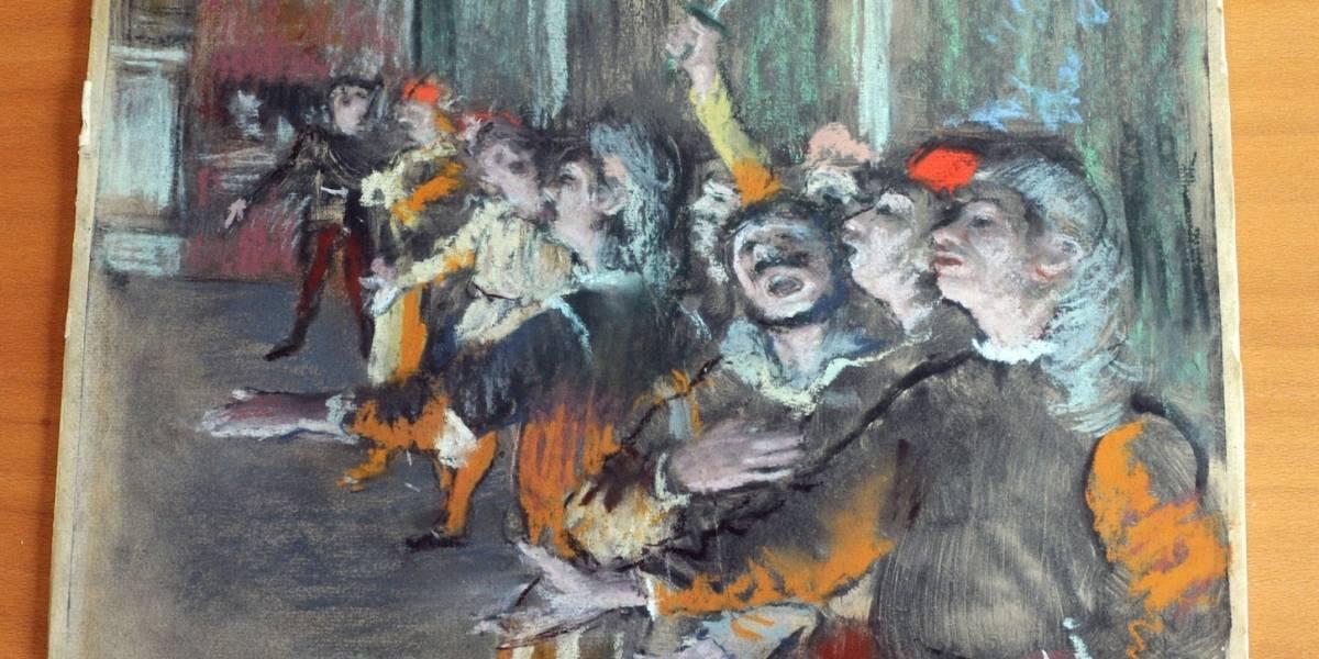 Autoridades francesas encuentran Degas robado en autobús