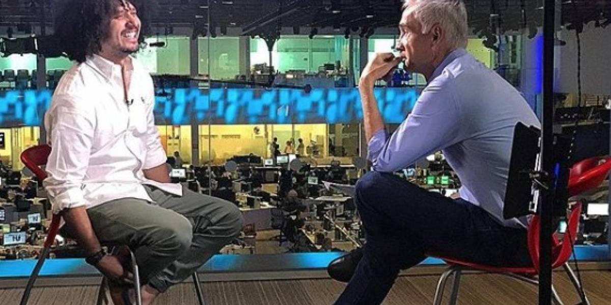 Jorge Ramos entrevista a PJ Sin Suela