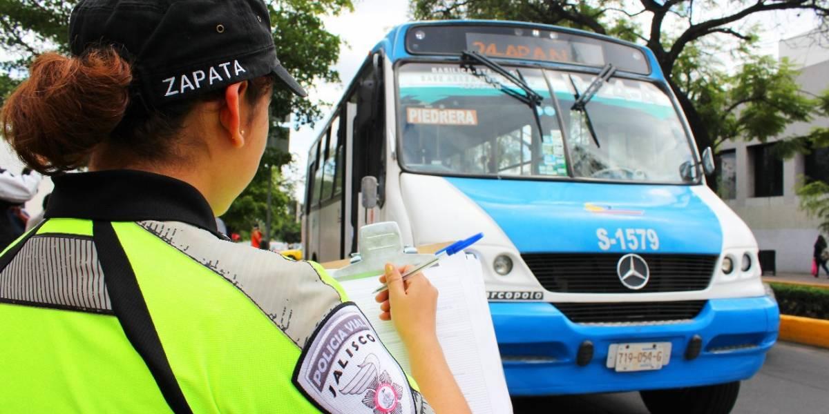 Alistan operativo para vigilar a unidades del transporte público