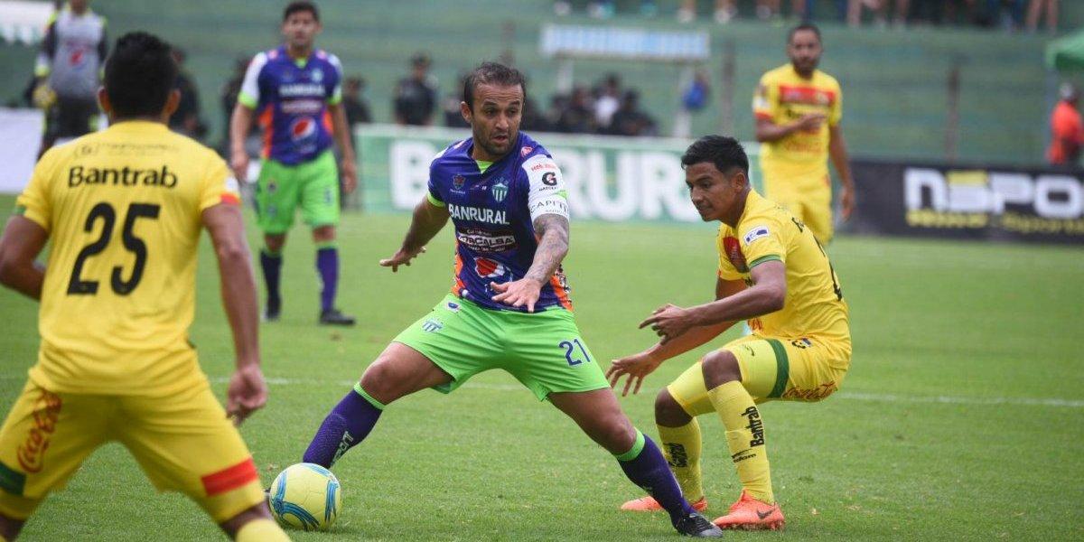 Antigua marca el ritmo de la tabla en la fecha 9 de la Liga Nacional