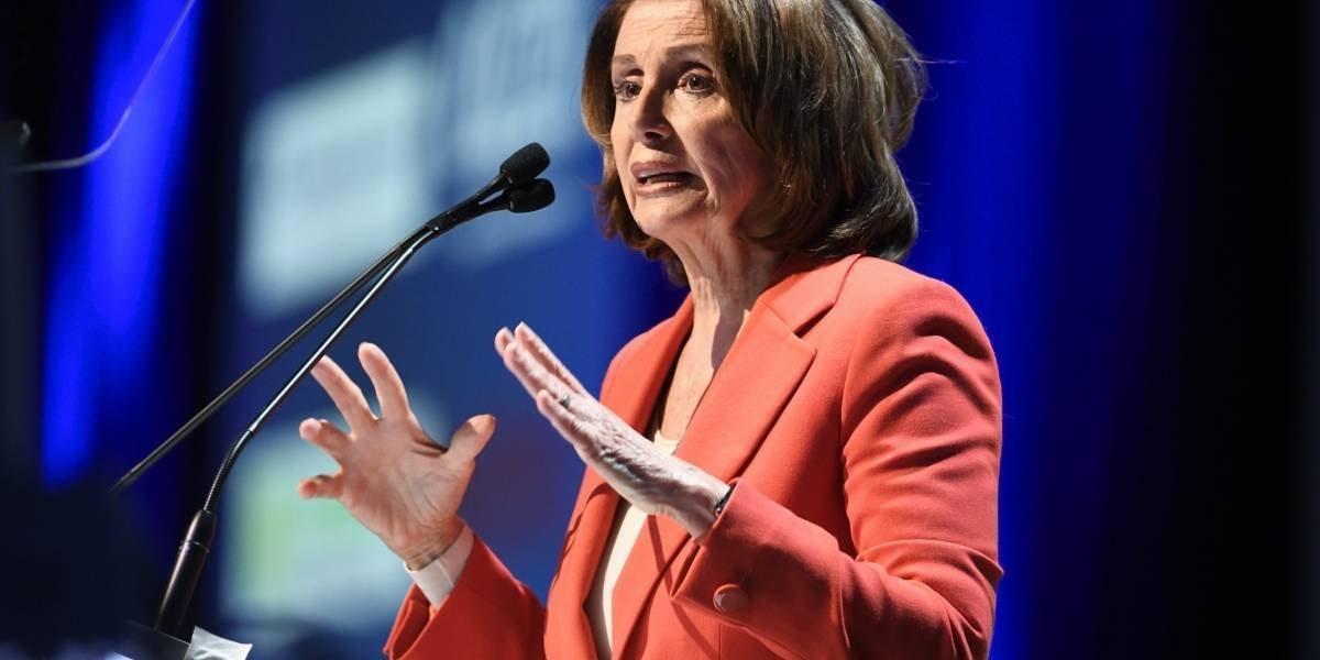 Nancy Pelosi. Si a Trump le importara el DACA apoyaría propuestas bipartidistas