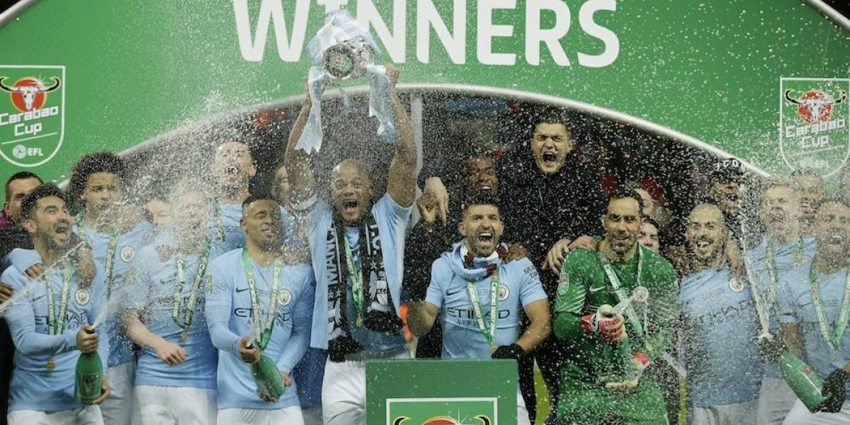 Guardiola consigue su primer título con el Manchester City