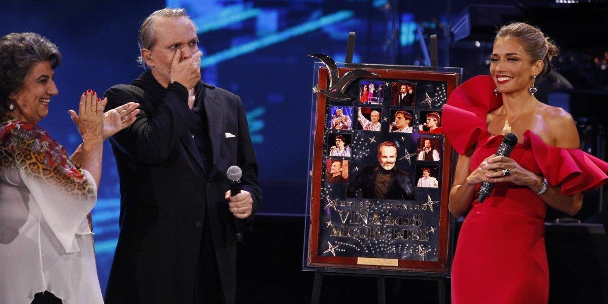 Viña 2018: Bosé dejó su collage en Chile