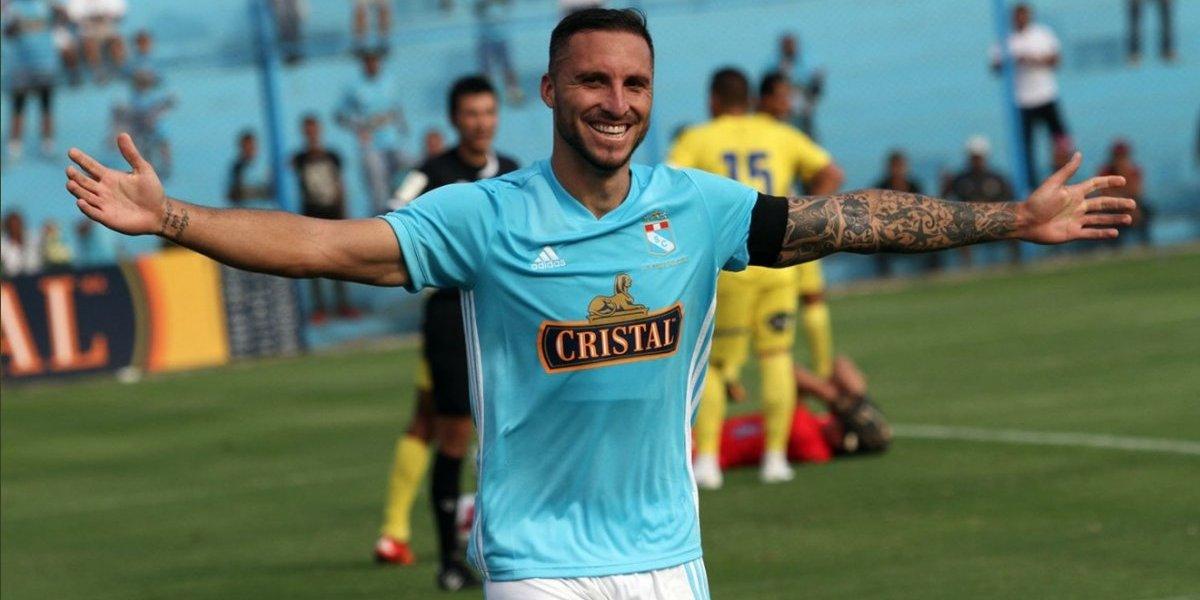 Mario Salas sigue celebrando con Sporting Cristal gracias a Emanuel Herrera