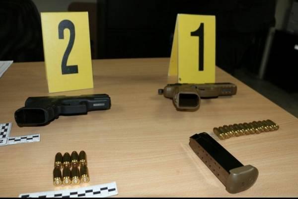 Las armas fueron secuestradas por el Ministerio Público para su evaluación.