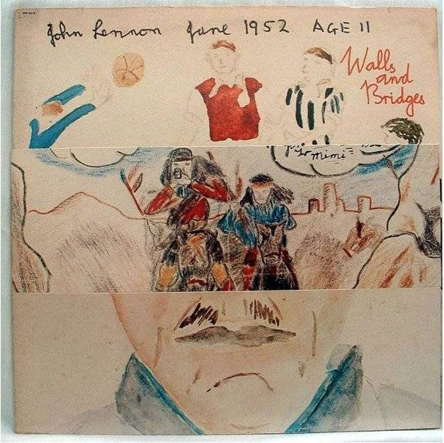 "John Lennon inmortalizó el gol de Robledo en la carátula de su ""disco Walls and bridges"""