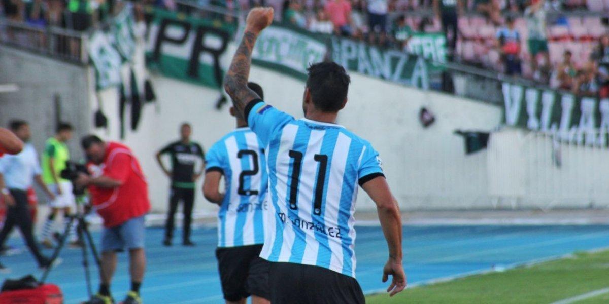 Mark González volvió a anotar en un Magallanes que goleó a Wanderers