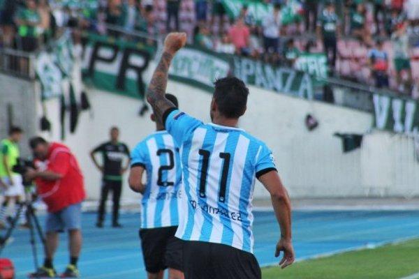 El Chico Mark ya suma dos goles en dos partidos / imagen: Twitter Magallanes