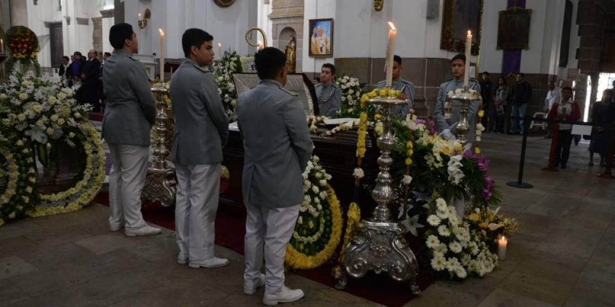 Juez Gálvez se despide de monseñor Vian con emotivo mensaje