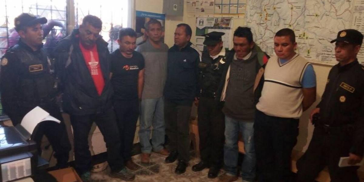 Subinspector y policía antinarcóticos lideran una banda de asaltantes