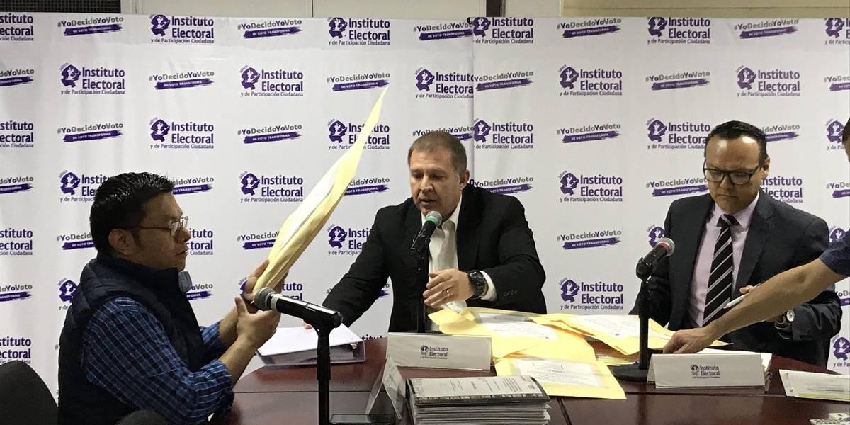 Se registran los candidatos a la gubernatura de Jalisco