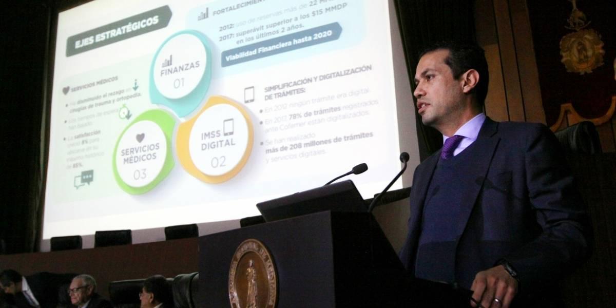 IMSS logra superávit de más de 9 mmdp en 2017
