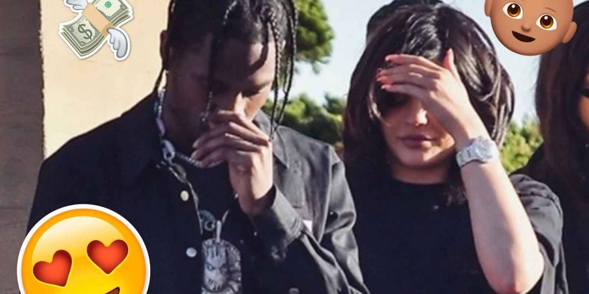 Kylie y Travis son vistos juntos después del nacimiento de Stormi